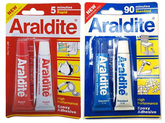 New Araldite Ab Epoxy Adhesive Glue
